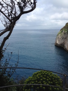 Area around the blue grotto